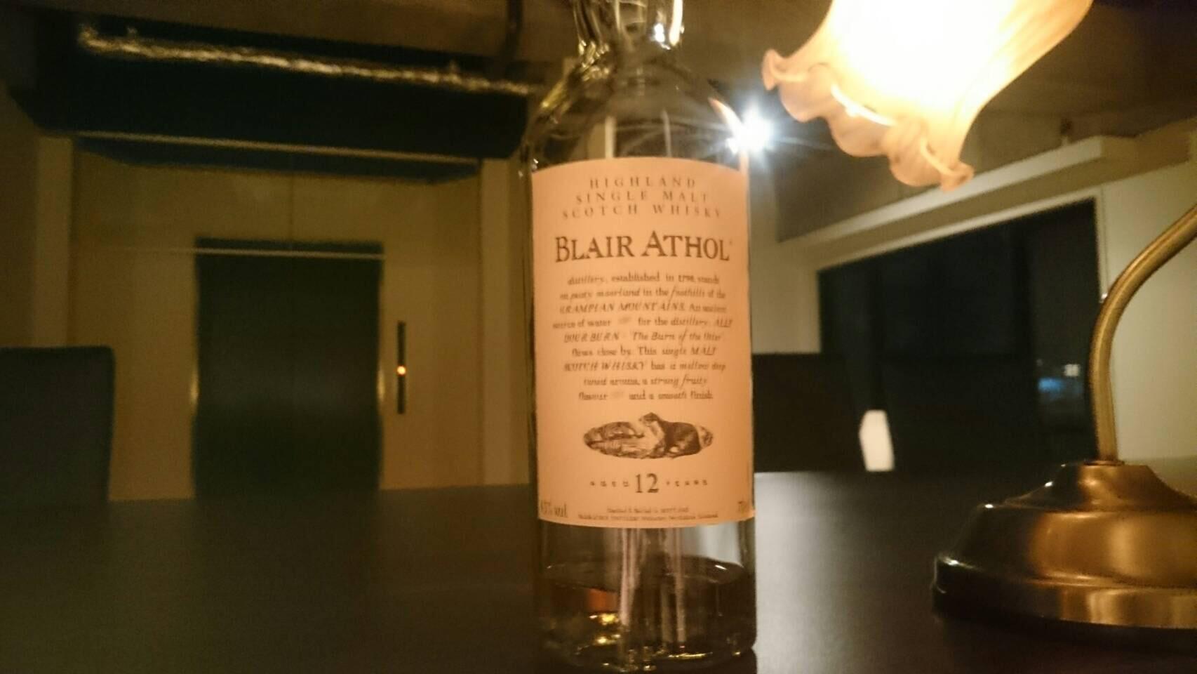 ウイスキー:BLAIR ATHOL