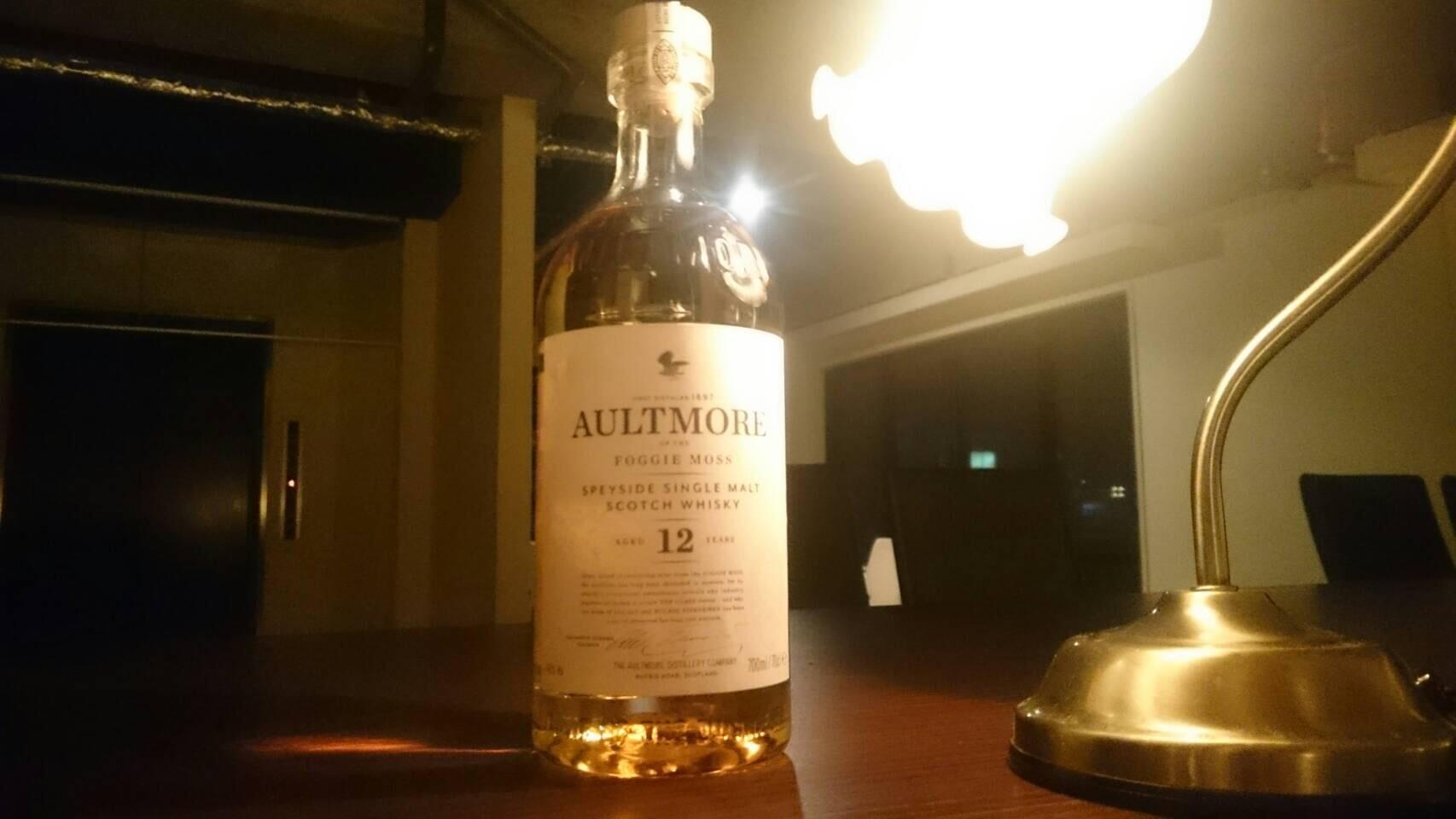 ウイスキー:AULTMORE(オルトモア)12年